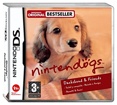 Nintendogs Miniature Dachshund & Friends (Nintendo DS) from Nintendo