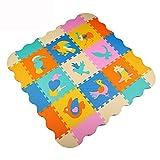 Menu Life goût Animal Paradise Soft Foam Mat joue clipser EVA mousse souple Puzzle bébé enfant joue Zone d'exercice Yoga Mats Uccelli