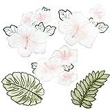 kanggest Patch Sticker, Niedlich DIY Kleidung Patches Aufkleber Blume Bügelflicken Kleidung Patches Applikation Patches für T-Shirt Jeans Taschen