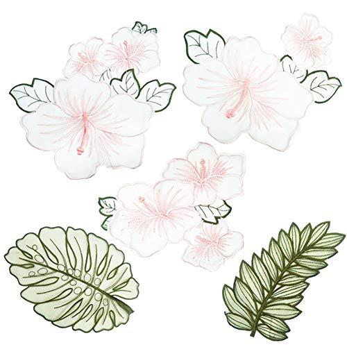 (kanggest Patch Sticker, Niedlich DIY Kleidung Patches Aufkleber Blume Bügelflicken Kleidung Patches Applikation Patches für T-Shirt Jeans Taschen)