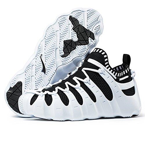 ONEMIX 1230a, Chaussures de course pour homme Whiteblack