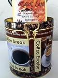 Katzenkaffee ORIGINAL KOPI LUWAK Indonesien von frei lebenden Tieren hergestellt 250 g