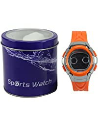 Polo House USA children Digital Orange Dial Watch - phwKming2org