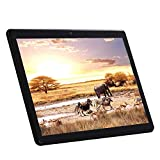 Tablet Display da 10 Pollici(10,1') - Processore Octa-Core, RAM 4 GB, ROM 64 GB, IPS 1280*800, Android 7.0 Phablet, 3G Dual Sim Card,Dual Cameras,WIFI,Bluetooth,GPS,Google Tablets PC (Black)