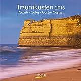 Traumküsten - Broschur Kalender 2016 - Korsch-Verlag - offen 30 cm x 60 cm