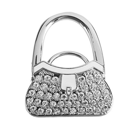 Tisch Klappbar Handtasche Tasche Strass Aufhänger Hangbag Hakenhalter Sicherer Geschenk