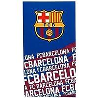 aa68721de27 FC Barcelona Official Football Gift Towel - A Great Christmas   Birthday  Gift Idea For Men