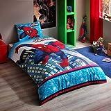 Spiderman Ultimate 3PCS Twin/Single Größe% 100Baumwolle Bettbezug Set Bettwäsche Bettwäsche