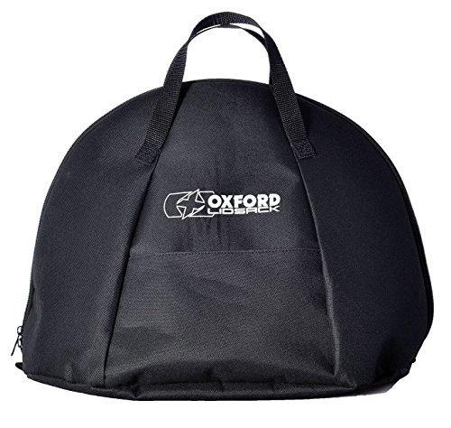 Lidsack Oxford Helmtasche für Motorrad, Schwarz, Wasserdicht (Oxford Motorrad)