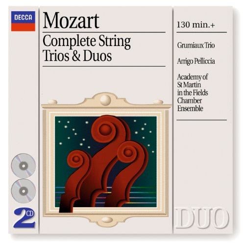 Mozart: Duo for Violin and Viola in B flat, K 424 - 1