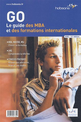 Le guide des MBA et des formations internationales