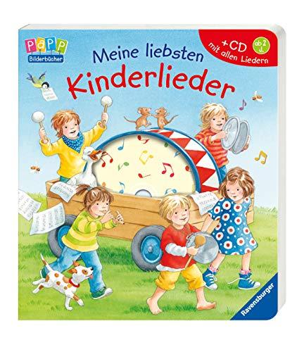 Meine liebsten Kinderlieder - Der Cd Gesang-buch Mit