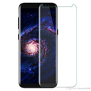 V CAN Edge to Edge Full Screen Coverage, 3D, Anti-Fingerprint 0.33mm, HD+ View, Crystal Clear Tempered Glass for Samsung Galaxy S9 Plus(Transparent)