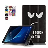 Samsung Galaxy Tab A6 10.1 Cover - DETUOSI Ultra Slim PU in Pelle Custodia per...