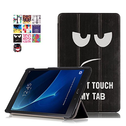 "cover tablet a6 Samsung Galaxy Tab A6 10.1 Cover - DETUOSI Ultra Slim PU in Pelle Custodia per Samsung Galaxy Tab A 10.1"" (SM-T580 / T585) Tablet"