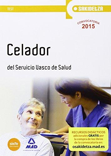 Portada del libro Celador de Osakidetza-Servicio Vasco de Salud. Test (Osakidetza 2015)