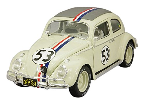 Hotwheels - Mattel - BLY22 - Elite - Volkswagen - Beetle - Herbie en el Monte Carlo - 1/18 Escala