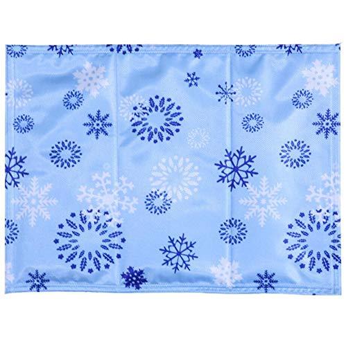 BOENTA Cool Mat pour Chiens Gel Mat Chien Matelas De Refroidissement Chaleur Soulagement Non Toxique Respirant Adapté à La Peau (30 * 40 CM)