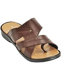 Kolapuri Centre Brown Color Casual Slip On Sandal For Men's - B075WVVLW8