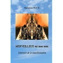 MERVEILLEUX est mon nom: Itinéraire de la transformation
