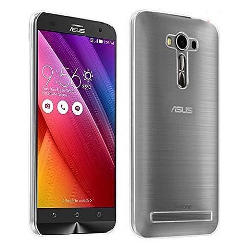 """Asus Zenfone 2 Laser ZE600KL/ ZE601KL 6"""" Étui HCN PHONE® Coque Silicone Gel Souple Ultra Fine pour Asus Zenfone 2 Laser ZE600KL/ ZE601KL 6"""" - TRANSPARENT"""