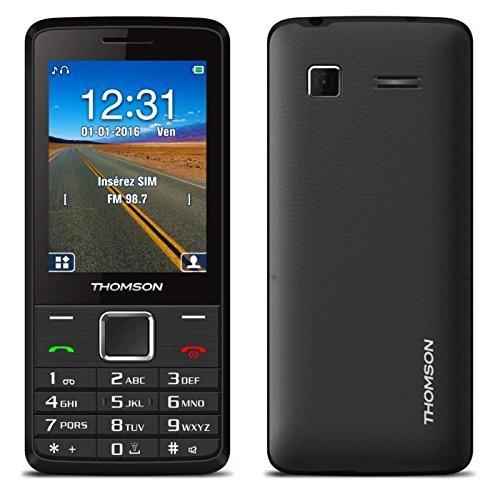 Thomson TLINK28+BLK Téléphone Portable prépayé Noir