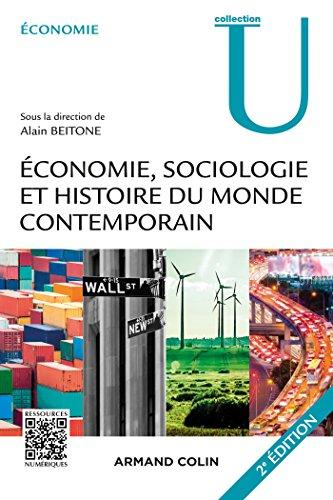 conomie, Sociologie et Histoire du monde contemporain - 2e d.
