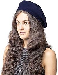 Plain Beret Mütze 100% Wolle French Beret Winter Herbst Frauen | Girls Fashion Hüte