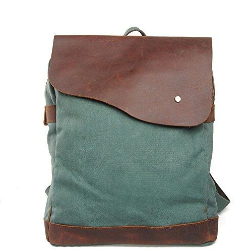 bronze-times-canvas-backpack-schultasche-tagesrucksack-38x14x33-cm-grun