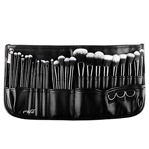 Set professionnel 29 pinceaux maquillage avec ceinture