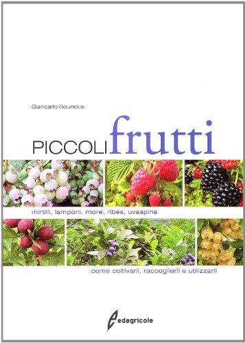 piccoli frutti. mirtilli, lamponi, ribes, uvaspina. come coltivarli, raccoglierli e utilizzarli. ediz. illustrata