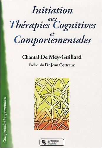 Initiation aux thérapies cognitives et comportementales