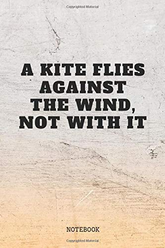 """Notebook: Funny Kite Surfing Quote / Kitesurfing Saying Kite Sports Planner / Organizer / Lined Notebook (6\"""" x 9\"""")"""
