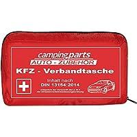 Auto Verbandskasten Verbandstasche KFZ Fahrzeug Zubehör Reise Verbandtasche DIN 13164 Rot | first aid kit, red preisvergleich bei billige-tabletten.eu