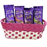 Cadbury Dairy Milk Silk Basket Hamper