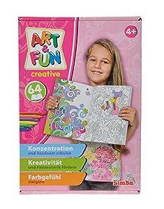 Simba Toys 106334021 Libro/álbum para Colorear Libro y página para Colorear - Libros y páginas para Colorear (Libro/álbum para Colorear, Niño, Chica, 4 año(s), 12 año(s))
