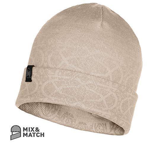 Buff® Knitted & Polar Bonnet Greta pour Adulte Cru
