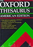 The Oxford Thesaurus: American Edition by Laurence Urdang (1992-08-13)
