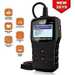 THZY OBD Scanner OBD2 Lecteur de Code Efface Défaut de Véhicule diesel interface scanner Batterie Diagnostique outil diagnostique voiture EOBD Engine