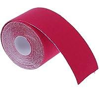 SODIAL(R) 1 Rolle Kinesiologie Sport Muskeln Zentrum Fitness Gesundheit Athletisch Band 5M * 5cm - Rose rot preisvergleich bei billige-tabletten.eu