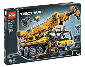lego technic 8421 pneumatik kranwagen mit motor amazon. Black Bedroom Furniture Sets. Home Design Ideas