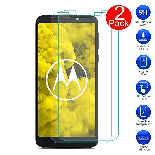 MaxKu [2 Pack] Moto G6 Play Protectores de Pantalla, 3D Touch Compatibles...