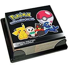 Pokemon Official 2018 Desk Block Calendar - Page-A-Day Desk Format