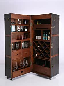 kare 73933 schrankkoffer bar colonial k che. Black Bedroom Furniture Sets. Home Design Ideas