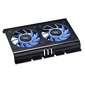 Deepcool Icedisk2 3.5 inch Hard Disk Cooler with Dual 60 mm Fans (PC)