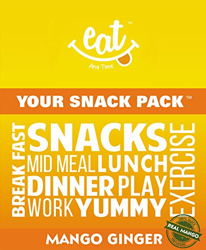 Eat Anytime Mango Ginger Energy Bars, 38g (pack Of 6)