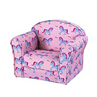 bon_shop Lovely Children Bedroom Playroom Armchairs Upholstered Armchairs (Unicorn)