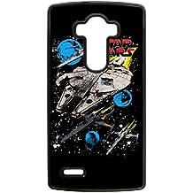 guerra de las galaxias resistencia escuadra fih7b3 lg caso funda de teléfono celular g4 negro caja del teléfono de la moda funda dura muh063