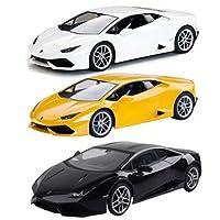 Lamborghini huracan lp610-4scala 1: 24con licenza ufficiale LED fari anteriori e posteriori sospensioni di tutte le funzioni avanti indietro sinistra destra nuovo 5x batterie AA (non incluse)