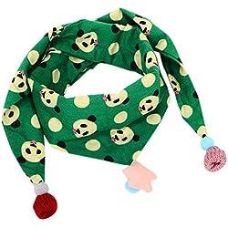Yiwa - Bufanda - para niña Green Panda